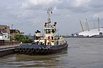 London MMB «H1 Svitzer Laceby and Millennium Dome.jpg