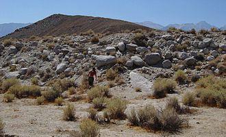 1872 Lone Pine earthquake - Lone Pine fault scarp