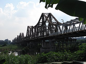 Long Biên Bridge - Long Biên Bridge in 2010.