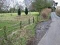 Looking N along Moorstock Lane - geograph.org.uk - 643678.jpg
