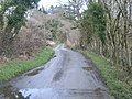 Looking up the lane at Cwm Pennant - geograph.org.uk - 726256.jpg