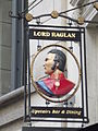 Lord Raglan - St Martin's Le Grand, City of London - pub sign (8106089341).jpg