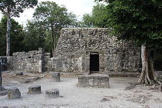 Cozumel - Maya ruins of San Gervasio