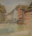 Lothar von Seebach-Maison des Tanneurs et le pont mobile.jpg