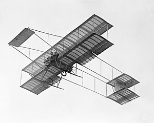 Farman III - Louis Paulhan in his Farman III at the Dominguez Field, Los Angeles 1910