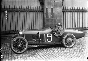 Louis Wagner - Wagner at the 1922 French Grand Prix