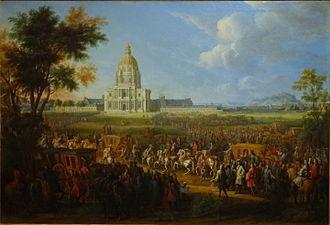 Pierre-Denis Martin (1663–1742) - Image: Louis XIV Invalides Pierre Denis Martin