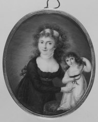 Louise av Mecklenburg-Strelitz, 1776-1810, gift Preussen, med barn (enligt Gripsholmsinventariet)