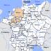 Lage des Niederrheinisch-Westfälischen Kreises im Heiligen Römischen Reich