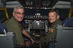 Lt. Gov. of Indiana visits Grissom 04.jpg