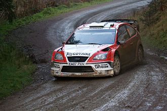 Munchi's Ford World Rally Team - Image: Luís Pérez Companc 2007 Wales Rally GB 001
