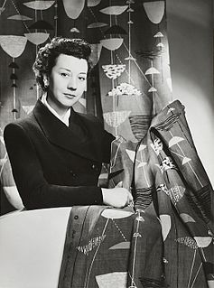 Lucienne Day British textile designer