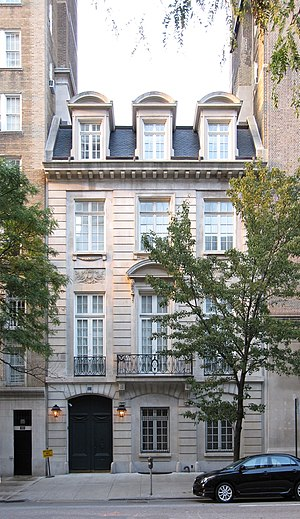 Ogden Codman Jr. - The Lucy Drexel Dahlgren residence, East 96th Street, New York