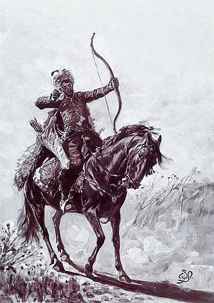 Crimean–Nogai raids into East Slavic lands - A Crimean Tatar Warrior.