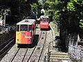 Lugano Città–Stazione funicular 09.jpg