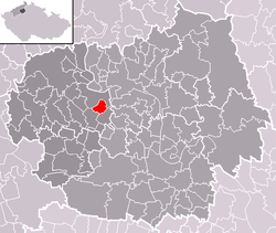 Location of Lukavec