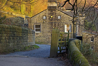 Ted Hughes - The Ted Hughes Arvon Centre, Lumb Bank – an 18th-century mill-owner's house, once Hughes's home