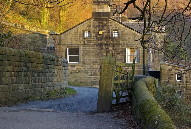 Lumb Bank - The Ted Hughes Arvon Centre - geograph.org.uk - 970898