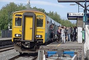 Lydney railway station - Image: Lydney railway station MMB 06 150245