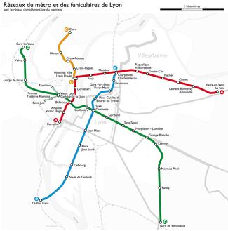 List Of Lyon Metro Stations Wikipedia
