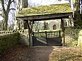 Lytchgate at Alnham Church - geograph.org.uk - 143437.jpg