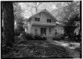 MAIN ELEVATION - Lewis Miller Cottage, Chautauqua Institution, Chautauqua, Chautauqua County, NY HABS NY,7-CHAUT,1A-1.tif