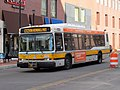 MBTA route CT2 bus at Kendall MIT, December 2015.JPG