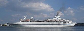 MV Ocean Star Pacific - The Arielle in Kiel in 2007.