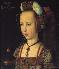 Mary Magdalene, also wrongly called Portrait of Mary of Burgundy