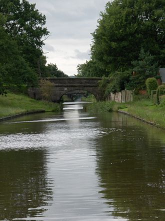Macclesfield Canal - The canal near Congleton