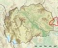 Macedonia relief Malechevo location map.jpg