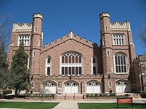 Boulder Philharmonic Orchestra - Image: Mackey Auditorium Colorado