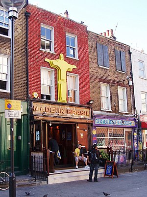 Brazilians in the United Kingdom - 'Made in Brasil', a Brazilian bar in Camden Town