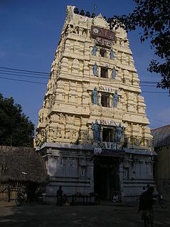 Maduranthakam Town in Tamil Nadu, India