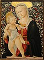 Madonna of the Roses, by Pseudo-Pier Francesco Fiorentino, Florence, c. 1485-1490, tempera on panel - San Diego Museum of Art - DSC06650.JPG