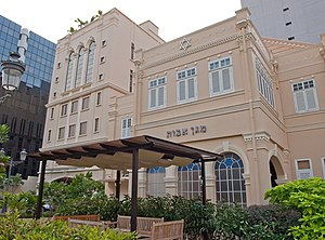 History of the Jews in Singapore - Maghain Aboth Synagogue