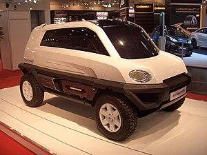 Mila (concept car division of Magna-Steyr) Alp...