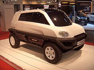 Magna Steyr - Magna Steyr MILA Alpin concept