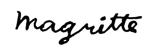 Magritte, Rene 1898-1967 Signature