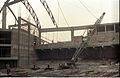 Main Auditorium Interior Under Construction - Convention Centre Complex - Science City - Calcutta 1995-April 061.JPG