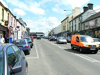 Edenderry - Main street Edenderry