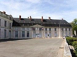 L'hôtel de vile de Dourdan.
