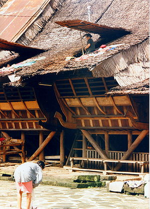 Omo sebua - Traditional house in Nias.