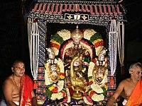 Malayappa in mutyala pandiri vahanam
