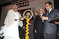 """Mallikarjun Kharge lighting the lamp to inaugurate the """"29th Employee Relations Conference – Enhancing Performance through People HR Challenges and Opportunities"""", in New Delhi on December 15, 2009.jpg"""