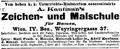 Malschule Wien Kaufmann Merode Inserat Neue Freie Presse Wien 1898-09-22.png