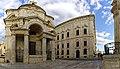 Malta - Valletta - South Street - St. Catherine of Italy Church - Auberge de Castille 1744 by Andrea Belli.jpg