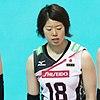 Mami Uchiseto Japan Volleyball team.jpg