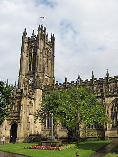 Manchester Cathedral Church in Manchester, England