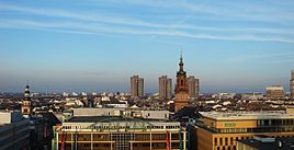 View of Mannheim's Centre